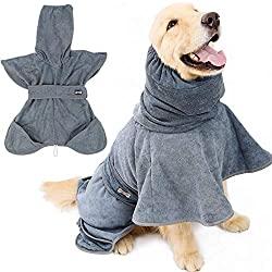 dog bath robe